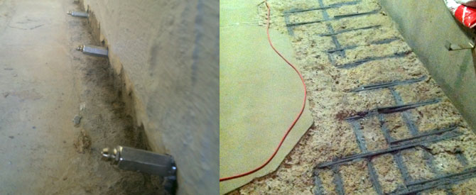 Concrete injection and repairs